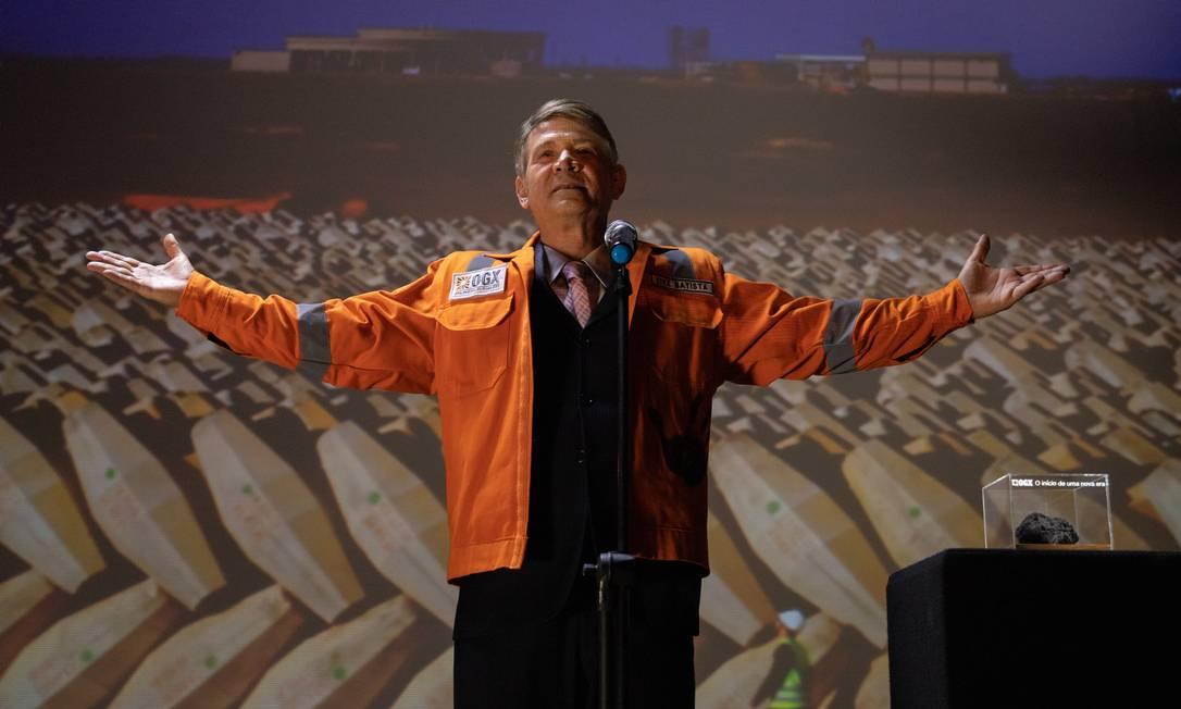 Nelson Freitas como Eike Batista no longa 'Eike - Tudo ou nada' Foto: DESIREE DO VALLE