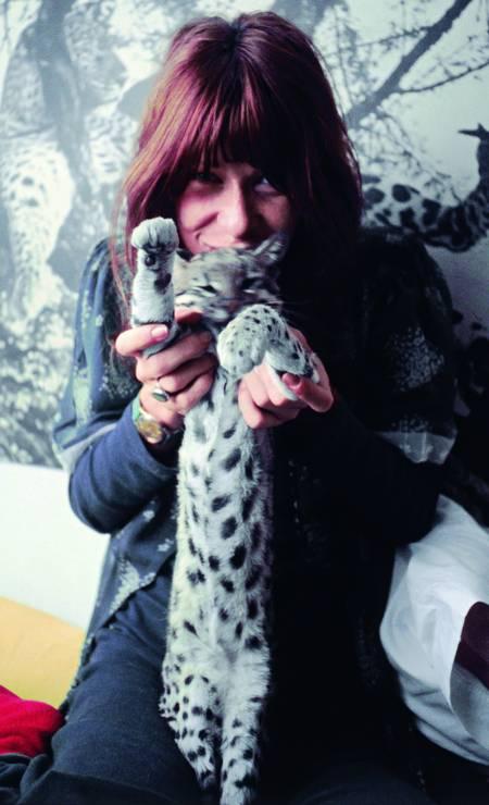 Cantora é apaixonada por bichos e voz ativa na causa animal Foto: Bob Wolfenson