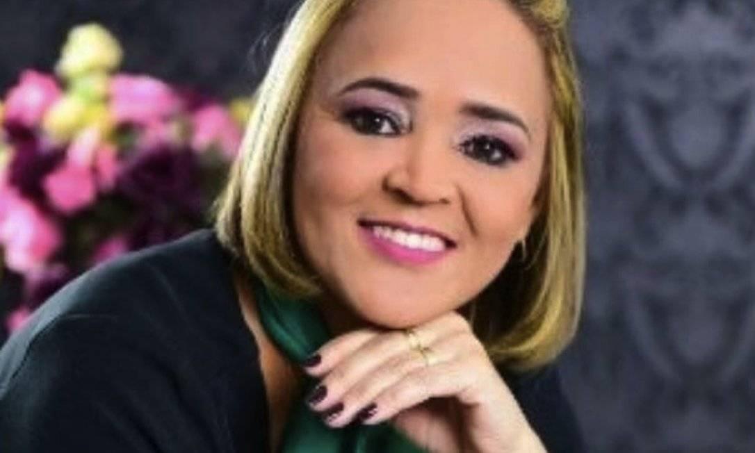 A técnica de enfermagem Lenilda Oliveira dos Santos, de 49 anos, morreu na travessia entre México e Brasil Foto: Reprodução