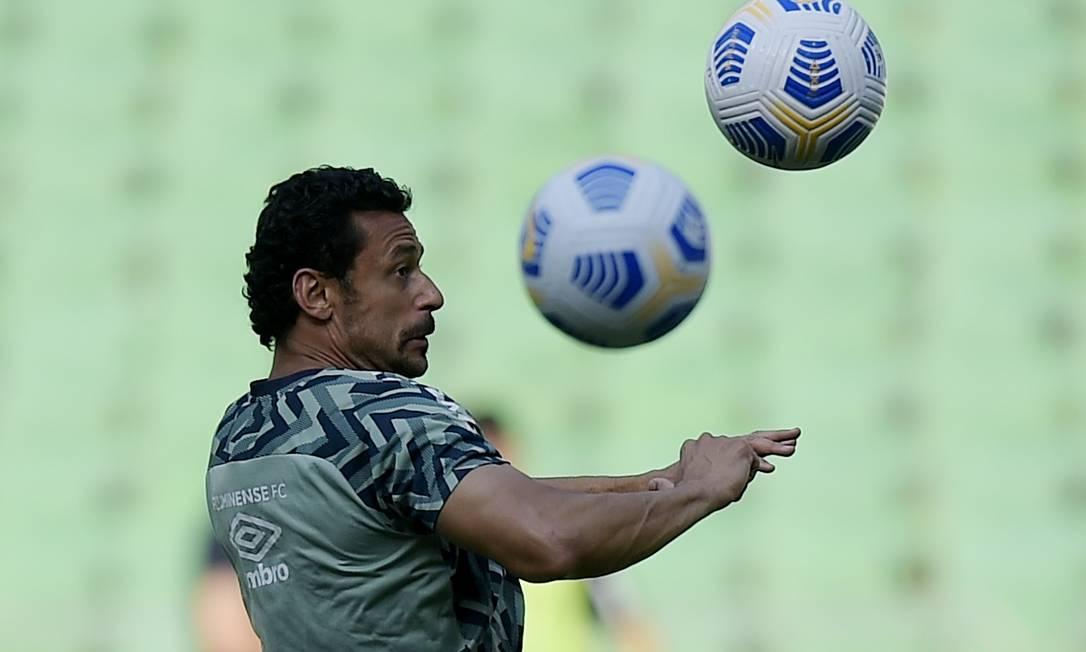 Fred deve ser substituído por Raúl Bobadilla ou John Kennedy Foto: ALEXANDRE LOUREIRO / REUTERS