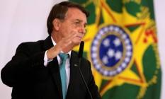 O presidente Jair Bolsonaro 27/09/2021 Foto: UESLEI MARCELINO / REUTERS