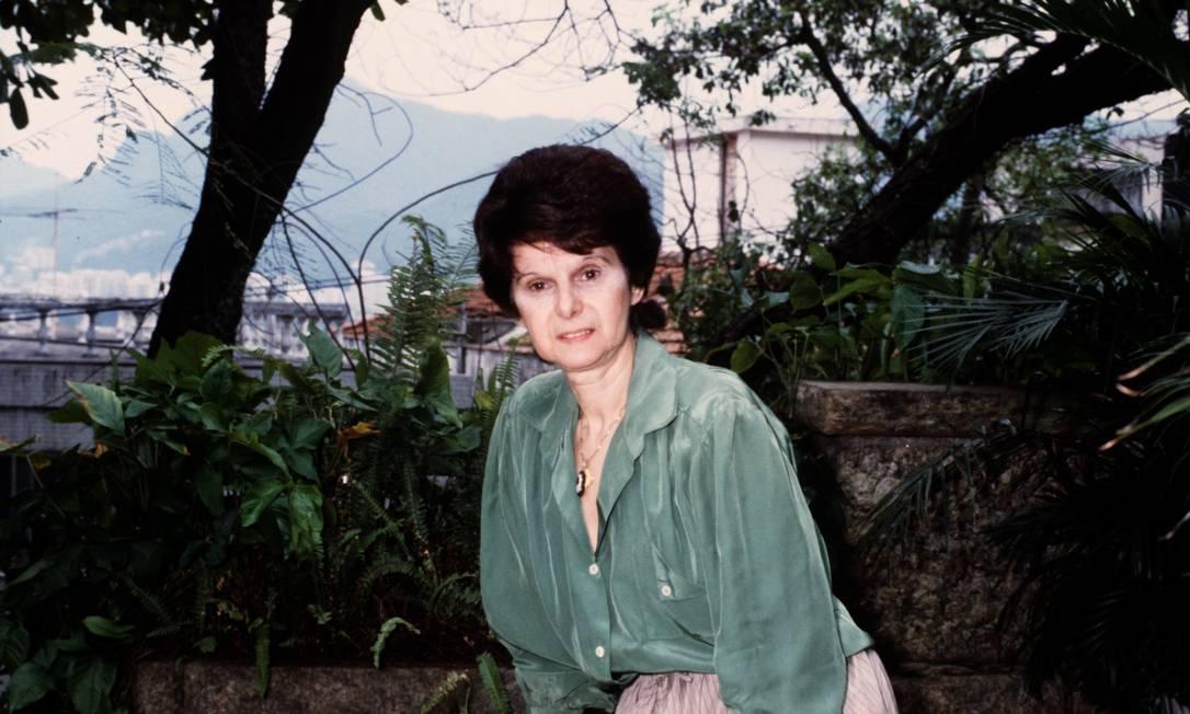Janete Clair (10.09.1982) Foto: Adir Mera / Agência O Globo