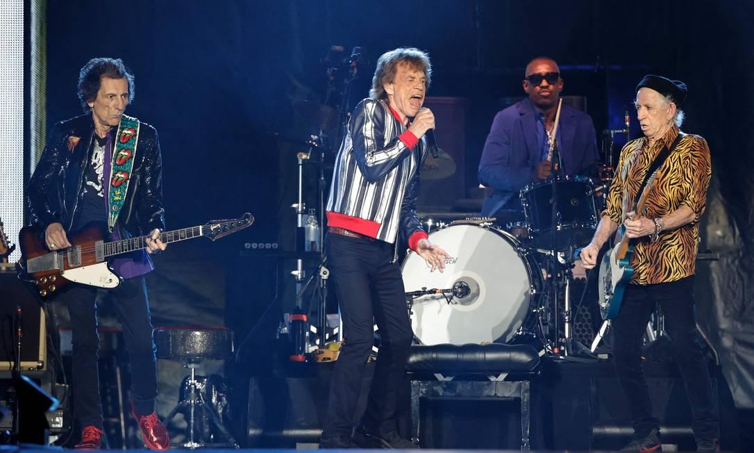 "Rolling Stones ""No Filter"" em St. Louis, Missouri Foto: KAMIL KRZACZYNSKI / AFP"
