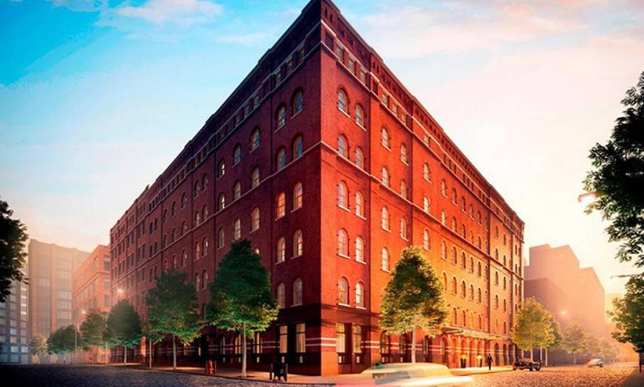 Fachada do prédio Foto: Reprodução