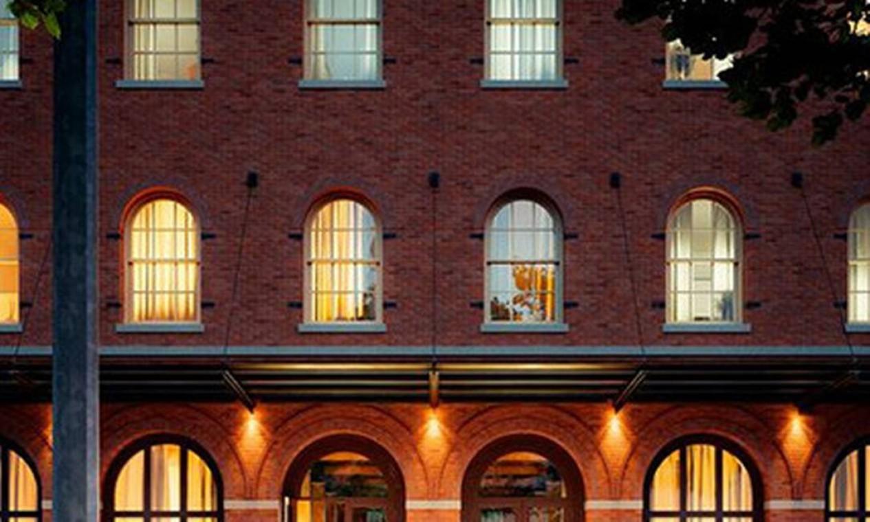 Entrada do prédio Foto: Reprodução