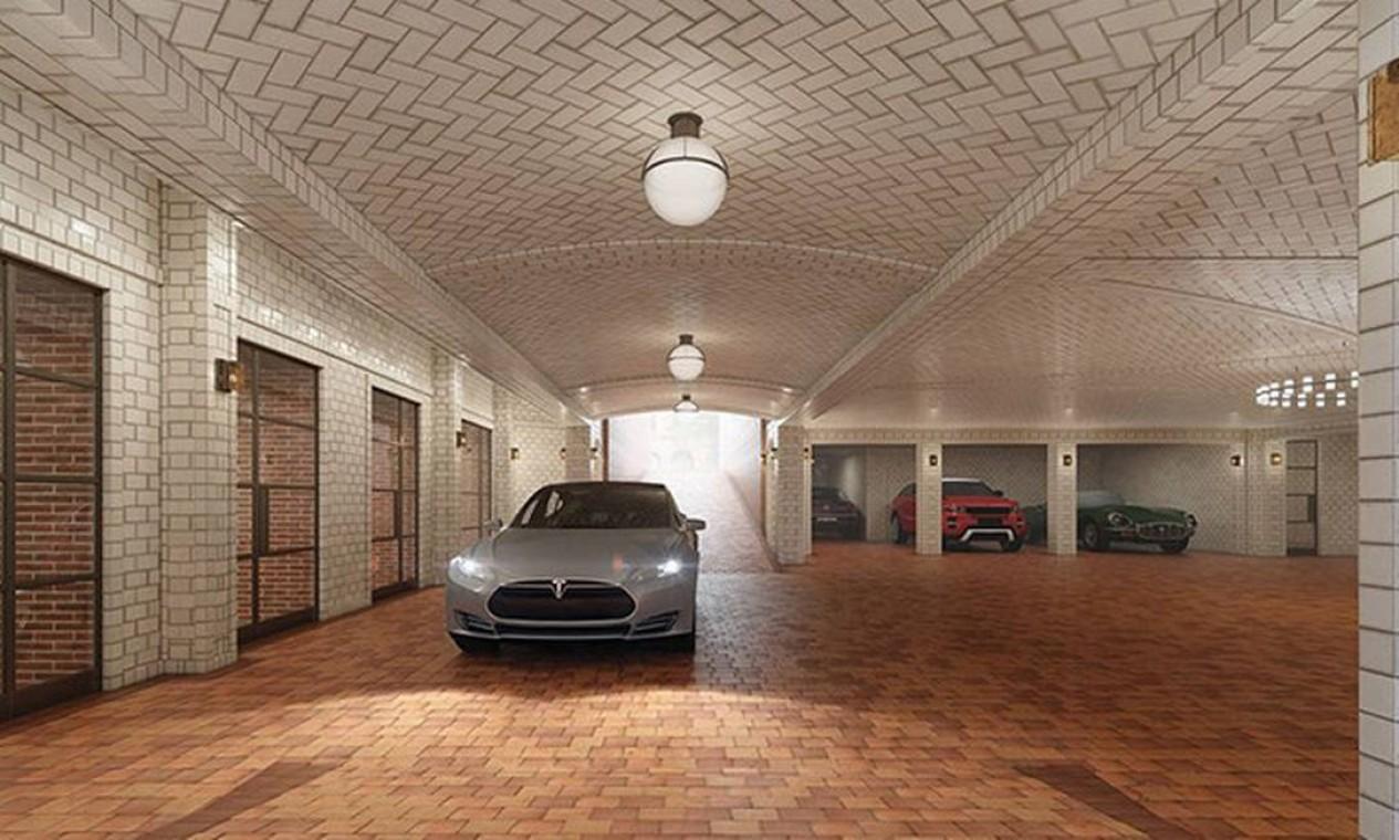 Garagem Foto: Reprodução