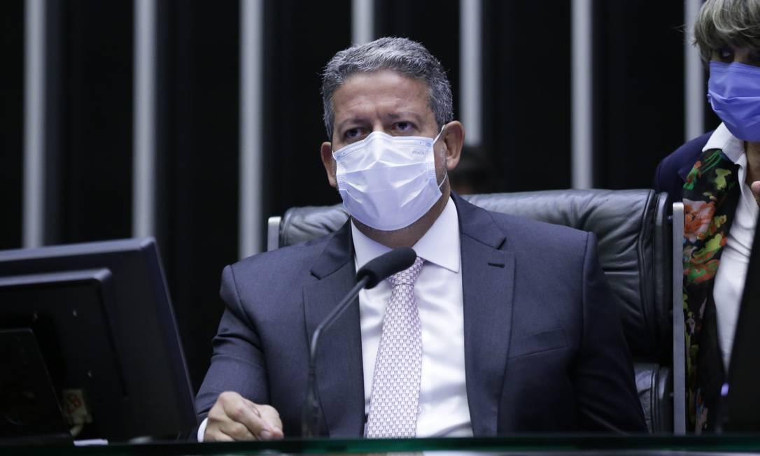 O presidente da Câmara, Arthur Lira (PP-AL) Foto: Michel Jesus / Agencia Câmara
