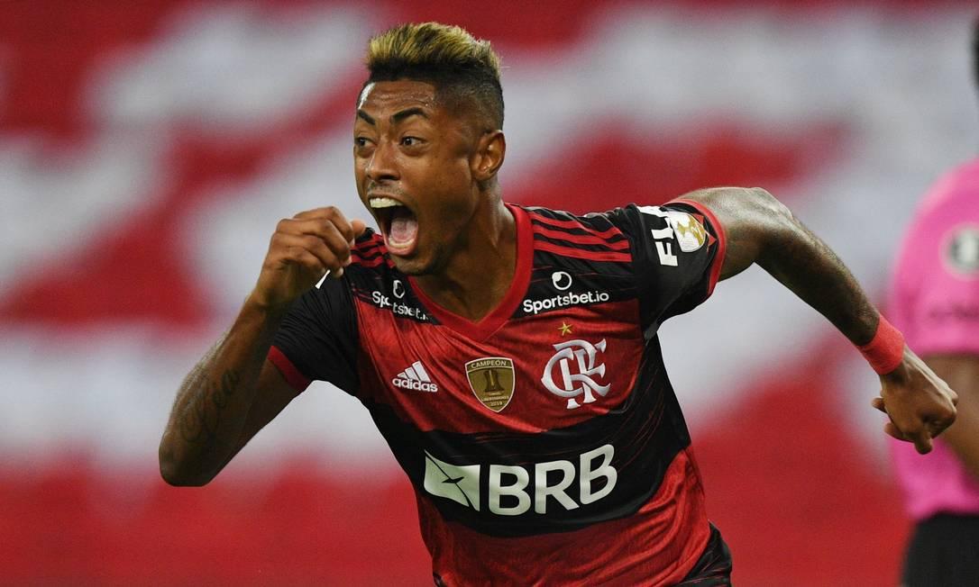Bruno ha rinnovato con il Flamengo a fine 2019, fino al 2023, club in cui l'attaccante ha segnato 73 reti su 117 in carriera.  Foto: Carl de Souza/Paul via Reuters