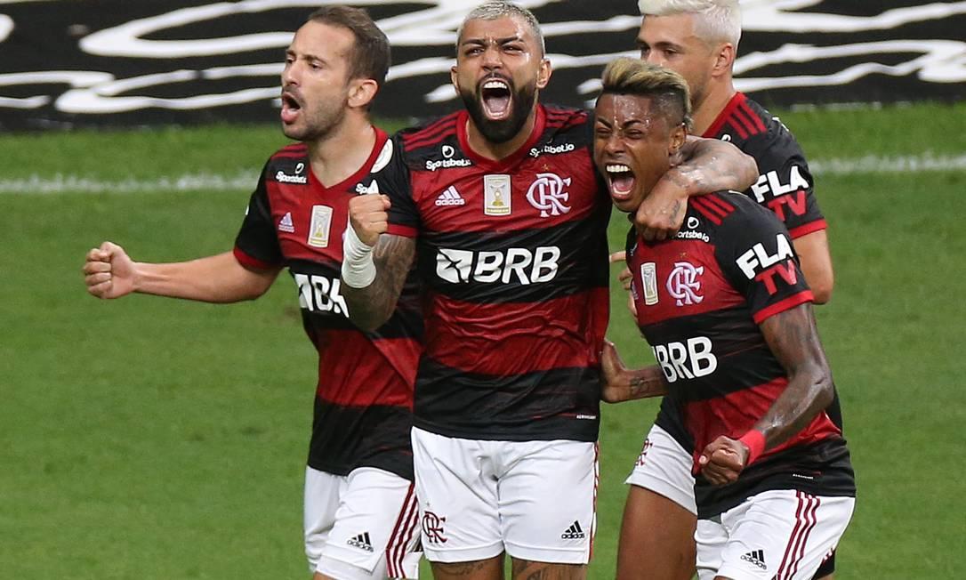 Everton Ribeiro, Gabigol, Arascaeta e Bruno Enrique, dal 2019, hanno segnato 243 gol per la FLA, Foto: Adriano Machado/Reuters