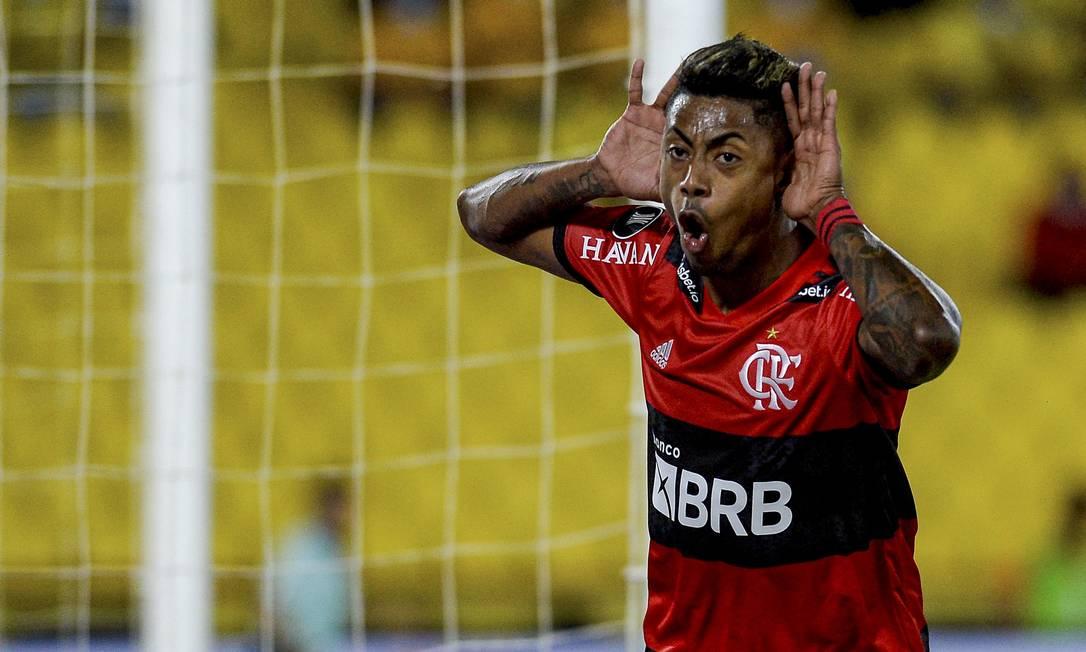 L'attaccante è già il secondo capocannoniere del club nel 21° secolo ed è stato l'attaccante titolare più economico Foto: Marcelo Cortes / Flamengo / Agencia o Globo