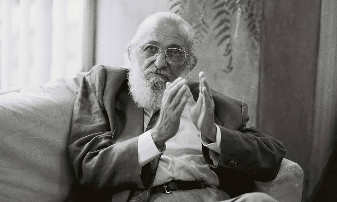 Paulo Freire é um dos homenageados da Bienal de Pernambuco Foto: Maurício Novaes / Itaú Cultural