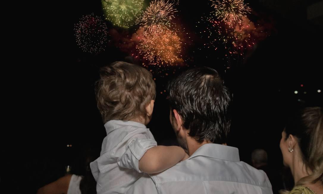 Festa de réveillon de 2019 para 2020 no hotel Grand Hyatt, na Barra, que volta a promover o evento Foto: Divulgação/Gabriel Monteiro