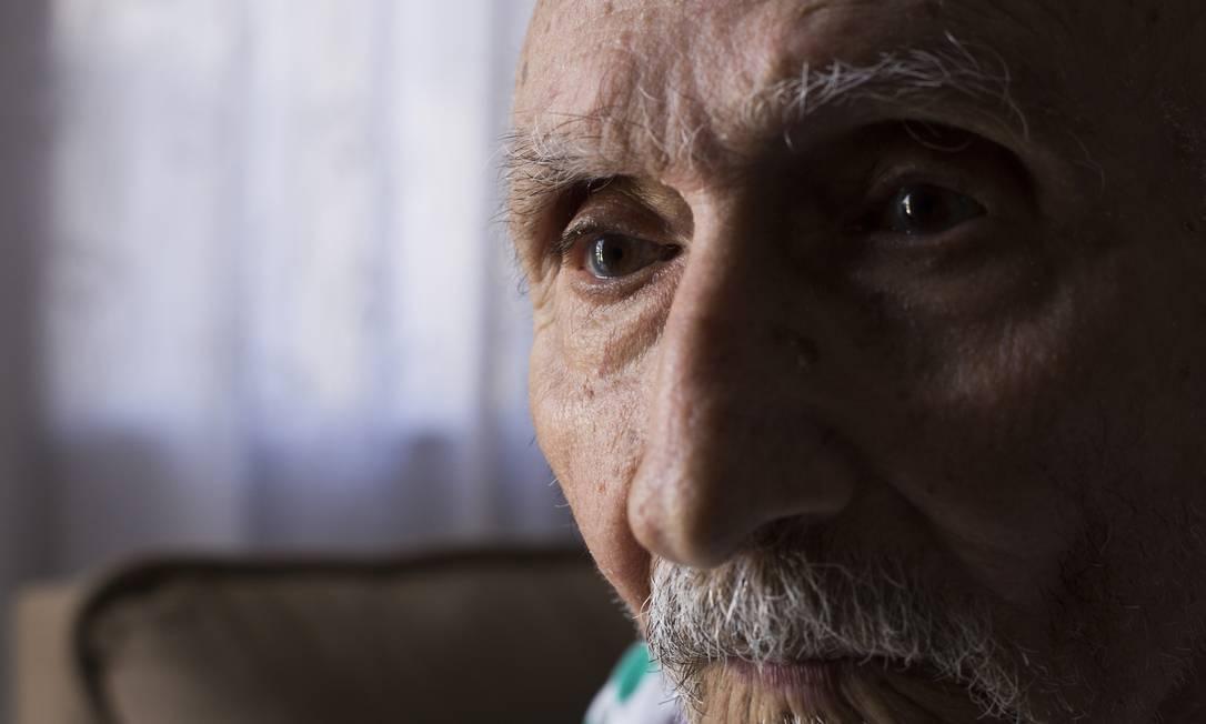 José Benigno foi perseguido, preso e torturado durante a ditadura militar Maria Isabel Oliveira / Agência O Globo. Foto: Maria Isabel Oliveira / Agência O Globo