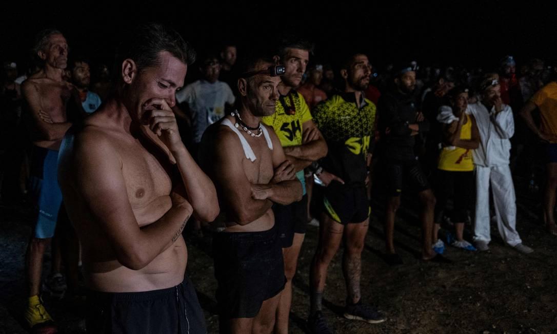 El maratón en el desierto del Sahara de Marruecos es un tramo de 250 km entre Des Chappells, Dessertamine y Corsican Dial Zait.  AFP
