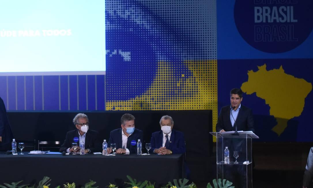 DEM e PSL formalizam fusão para criar maior partido da Câmara, União Brasil Foto: Divulgação