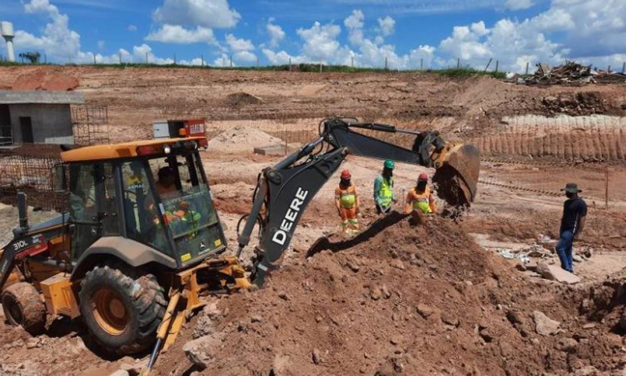 Material foi encaminhado para a Universidade Federal do Sul e Sudeste do Pará, onde estão sendo analisados Foto: Divulgação / Divulgação / Brado