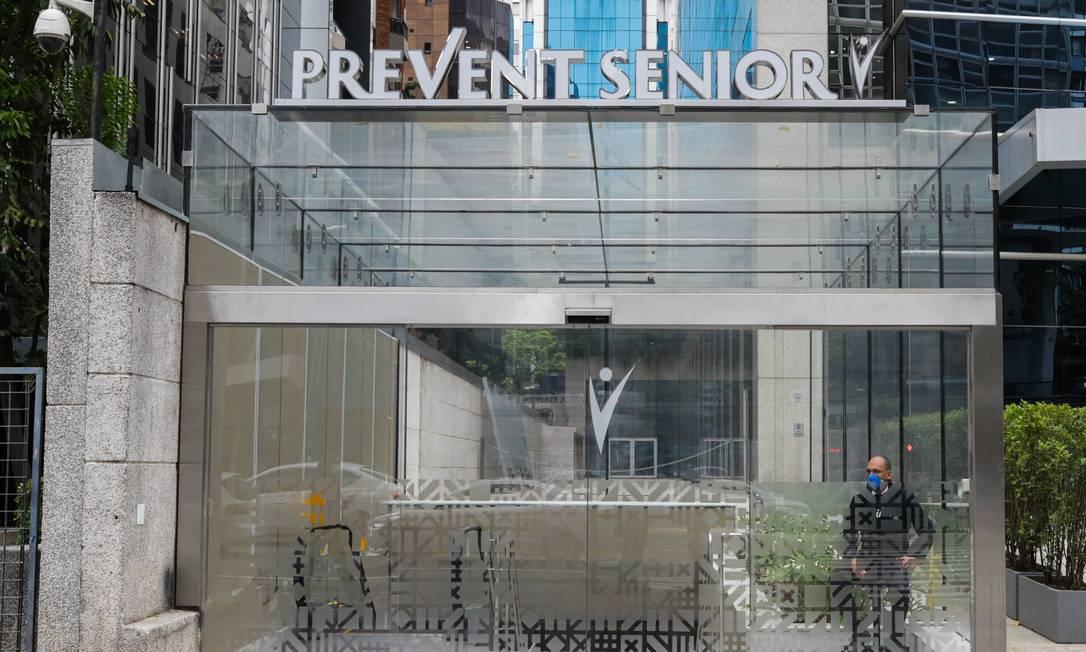 Fachada do Hospital da Prevent Sênior em São Paulo Foto: Paulo Guereta / Photo Premium/Agência O Globo