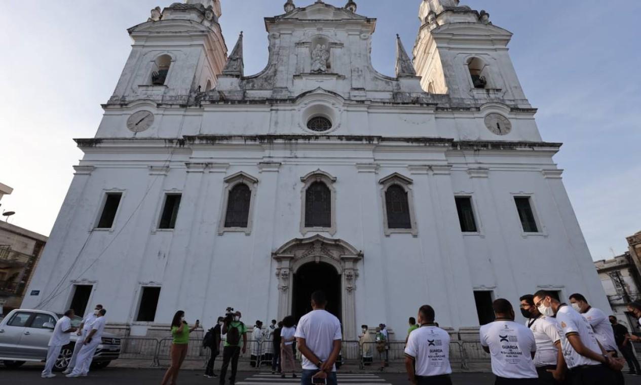 Catedral da Sé, em Belém Foto: Pedro Guerreiro / Agência Pará / Agência O Globo
