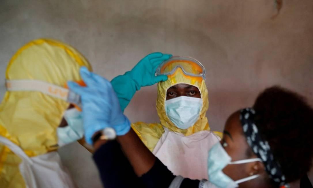 OMS investiga novo caso de ebola na República Democrática do Congo (Arquivo, 2018) Foto: Goran Tomasevic / REUTERS