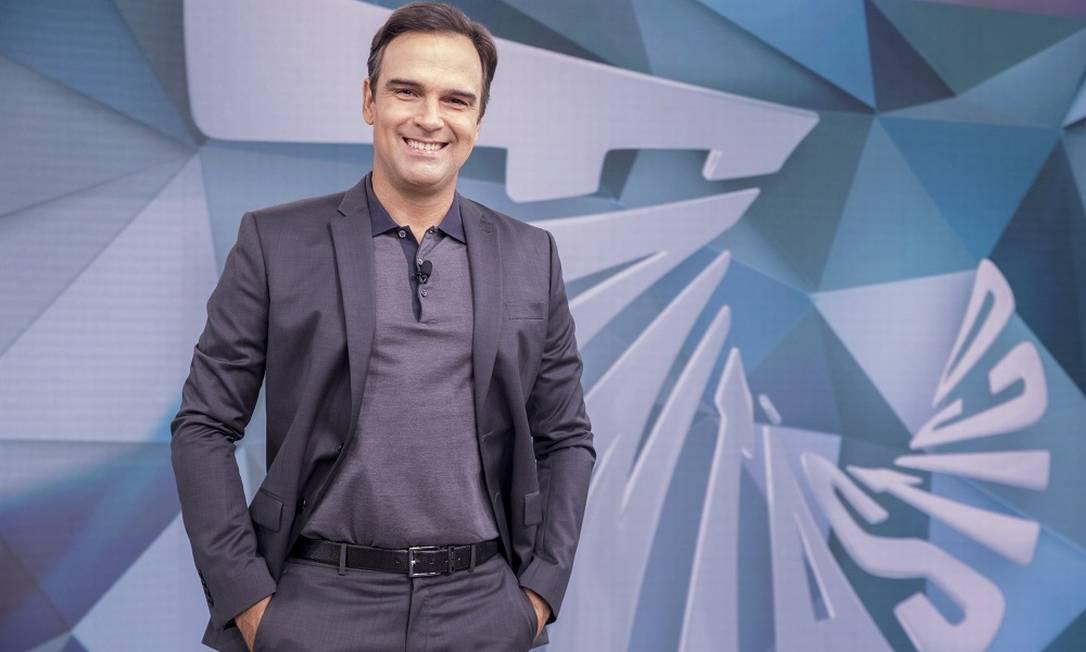 Tadeu Schmidt Foto: JOAO COTTA / Divulgação/ TV GLOBO