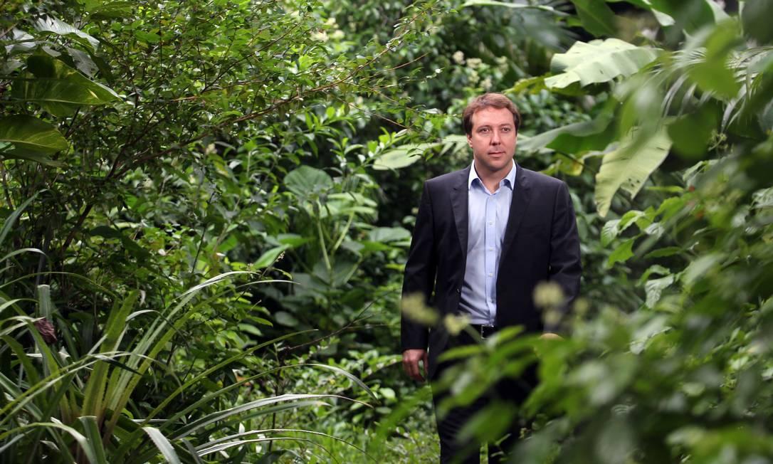 Bernardo Strassburg é diretor-executivo do Instituto Internacional para Sustentabilidade e professor do Departamento de Geografia e Meio Ambiente da PUC-Rio Foto: Alaor Filho