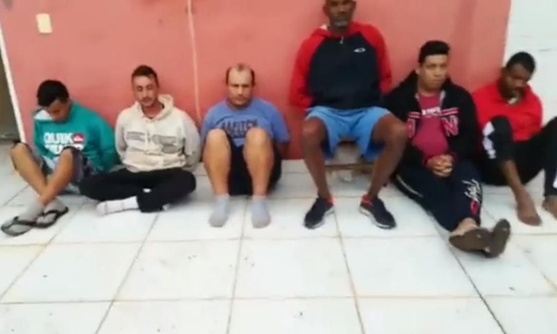 Polícia do Paraguai prendeu seis brasileiros suspeitos de envolvimento no ataque a tiros que matou a filha do governo de Amambay, no Paraguai, e outras três pessoas no sábado Foto: Reprodução/Twitter