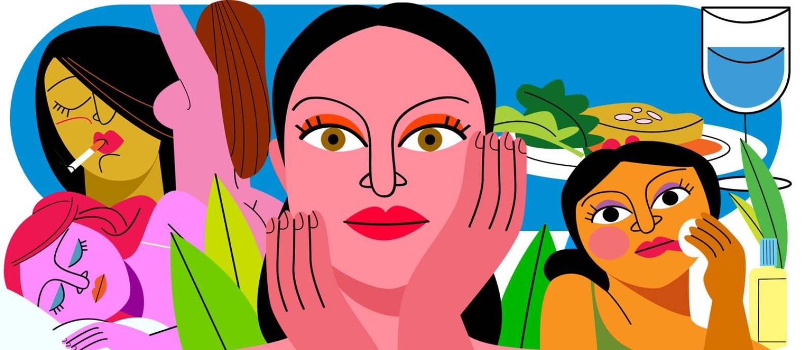 Apenas usar protetor solar não é suficiente para cuidar da saúde da pele. Confira sete práticas nocivas para o órgão que devem ser evitadas. Foto: André Mello / O Globo