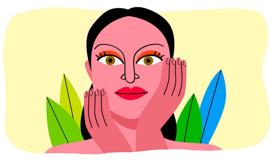 Não conhecer o seu tipo de pele pode levar ao uso de produtos que não apenas deixam de cumprir o seu papel, como podem danificar a pele. Foto: André Mello / O Globo