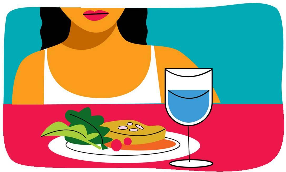 Estudos alertam para a relação direta entre hábitos alimentares considerados negativos e o envelhecimento da precoce da pele. Foto: André Mello / O Globo