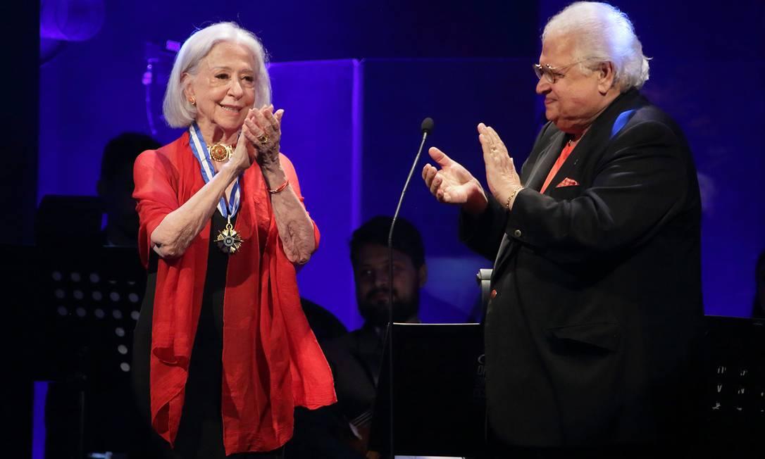 Fernanda Montenegro recebe homenagem no Prêmio Cesgranrio de Teatro 2019 Foto: Jose Renato Antunes / Digulgação/Fundação Cesgranrio