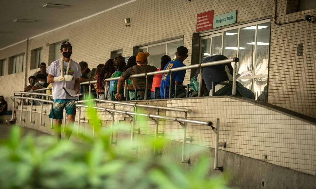 Procedimentos de saúde de diversas áreas deixaram de ser procurados pela população Foto: Brenno Carvalho / Agência O Globo