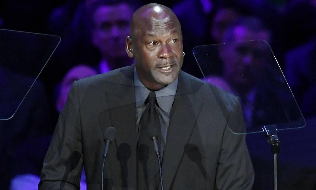 O ex-astro da NBA, Michael Jordan Foto: KEVORK DJANSEZIAN / AFP