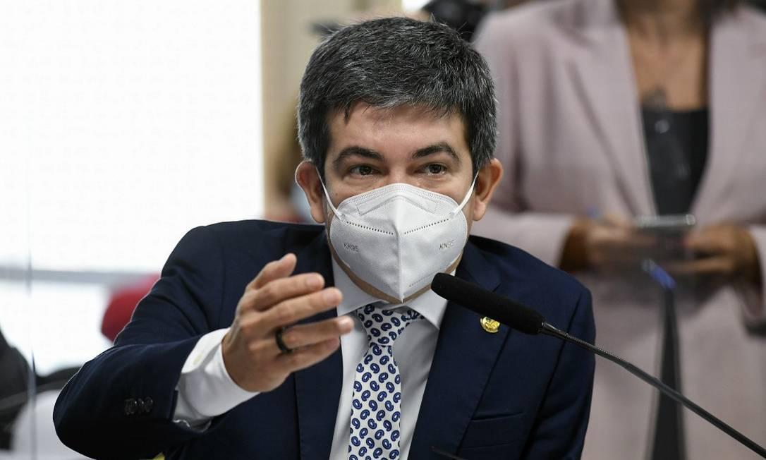 O senador Randolfe Rodrigues (Rede-AP) Foto: Jefferson Rudy / Agência Senado