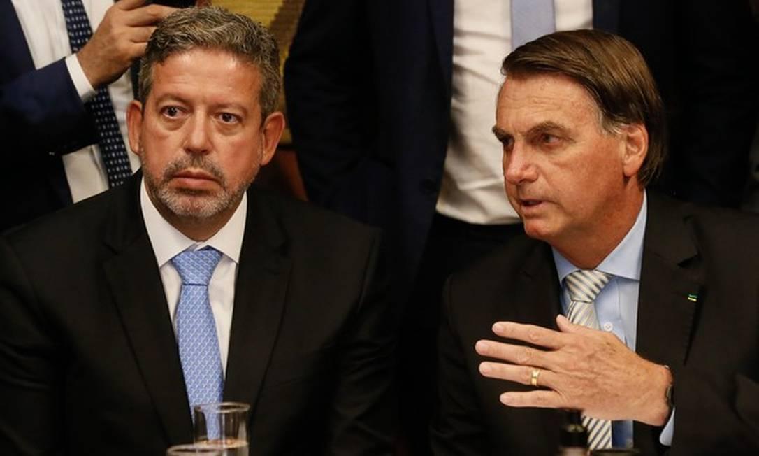 Arthur Lira e Bolsonaro Foto: Isac Nóbrega/PR / O GLOBO