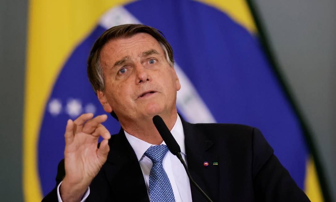 Presidente Jair Bolsonaro Foto: UESLEI MARCELINO / REUTERS