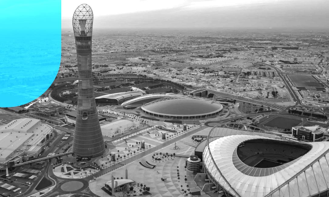 Estádio Khalifa receberá oito jogos da Copa do Qatar em 2022 Foto: Divulgação