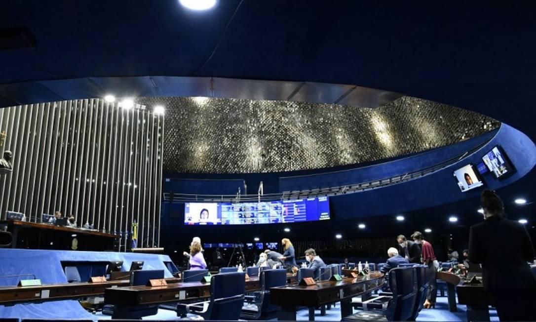 Sessão do Congresso Nacional Foto: Waldemir Barreto / Agência O Globo