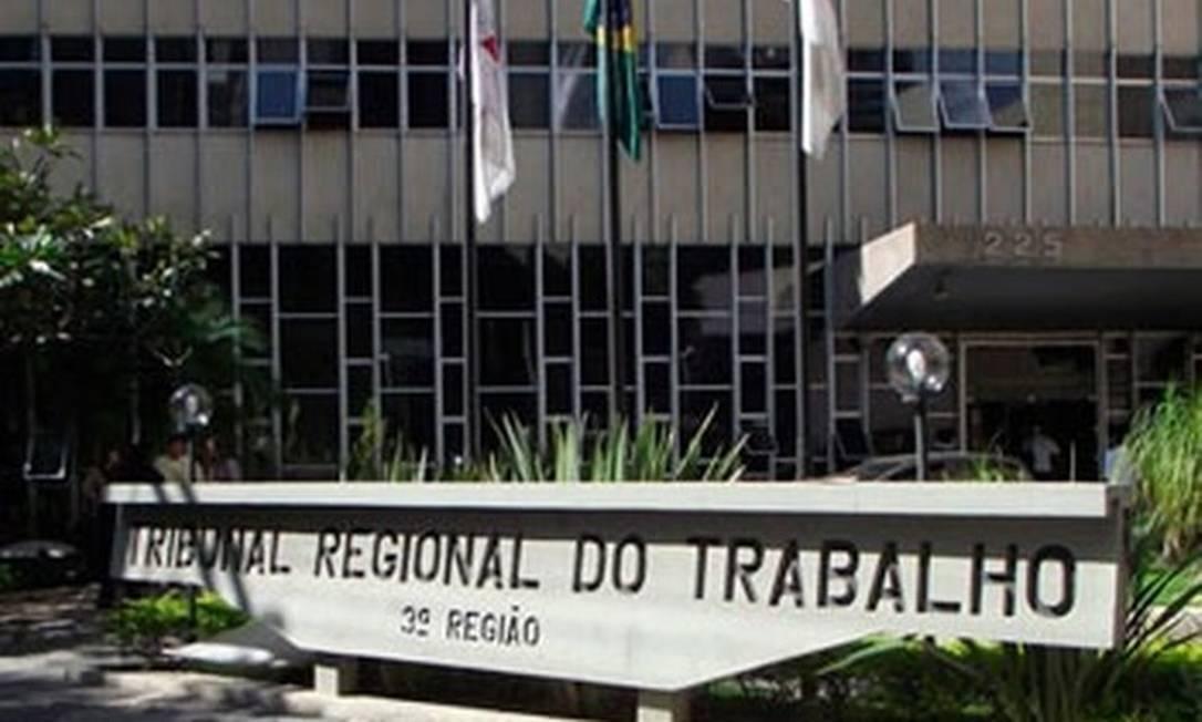 Tribunal Regional do Trabalho da 3ª Região, em Minas Gerais Foto: Divulgação