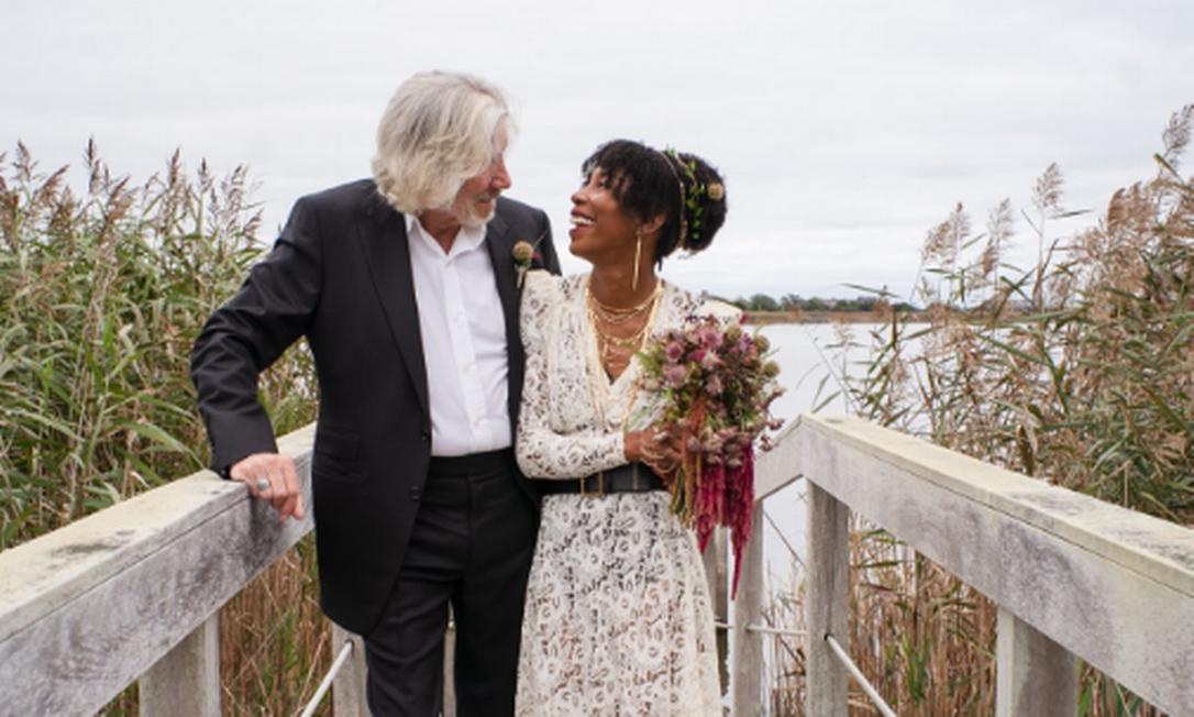 Roger Waters se casa pela quinta vez Foto: Reprodução/Twitter