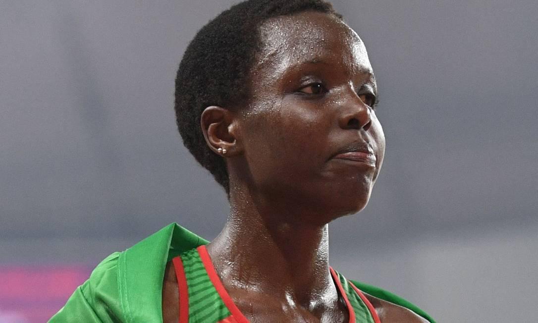 Morte da corredora olímpica queniana Agnes Jebet Tirop é investigada Foto: KIRILL KUDRYAVTSEV / AFP
