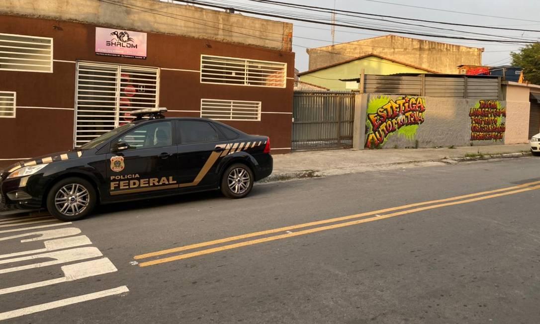PF já prendeu 15 e cumpriu 51 mandados de busca e apreensão nas investigações de crime em Araçatuba Foto: Divulgação / Polícia Federal