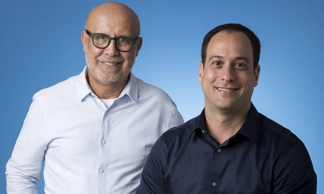 Jorge Nóbrega e Paulo Marinho: mudanças no Grupo Globo e na Globo. Foto: Sergio Zalis / .