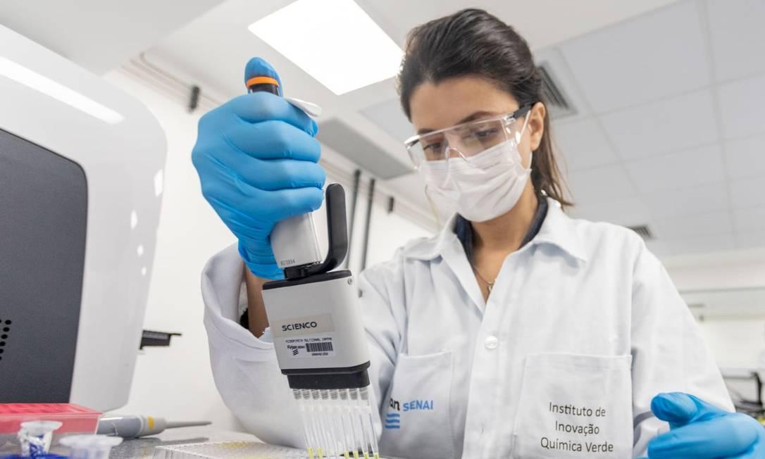Laboratório biomolecular da Firjan é inaugurado na Tijuca, Zona Norte do Rio Foto: Divulgação