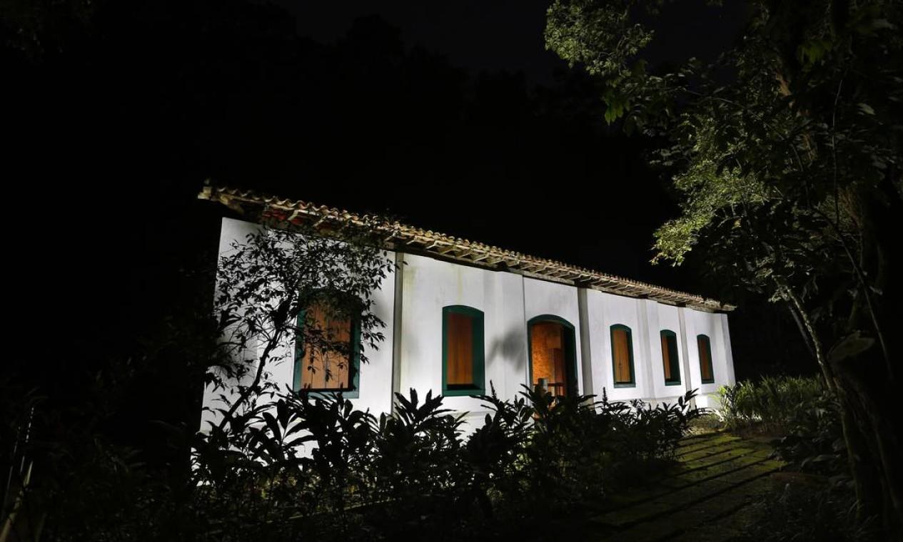 Museu arqueológico da Casa dos Pilões Foto: Fabio Rossi / Agência O Globo