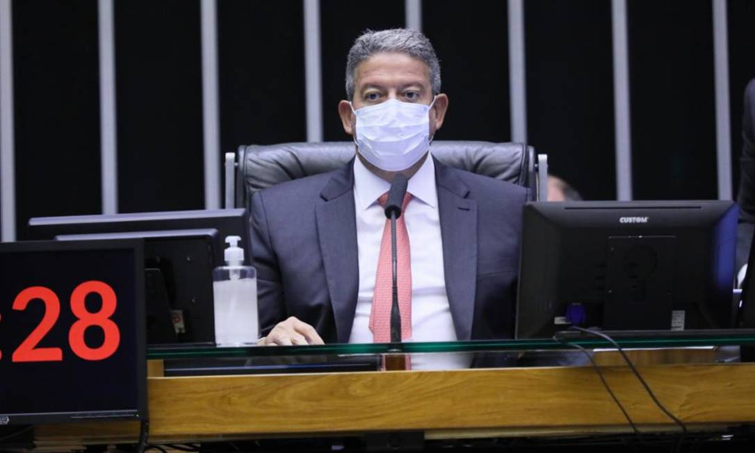 O presidente da Câmara, Arthur Lira (PP-AL) 14/10/2021 Foto: Agência Câmara