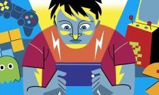 Diagnóstico do vício tem relação com o prejuízo que o hábito causa nas amizades e rotina. Foto: Editoria de Arte