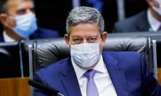 O presidente da Câmara, Arthur Lira 14/09/2021 Foto: ADRIANO MACHADO / REUTERS