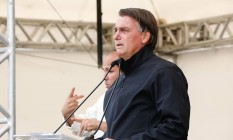 O presidente Jair Bolsonaro participa de evento em Miracatu (SP) Foto: Alan Santos/Presidência/13-10-2021