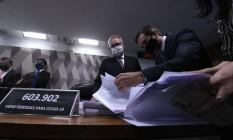 O relator da CPI da Covid, Renan Calheiros Foto: Edilson Rodrigues/Agência Senado