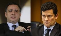Pacheco e Moro se filiam a PSD e Podemos Foto: Agência O Globo